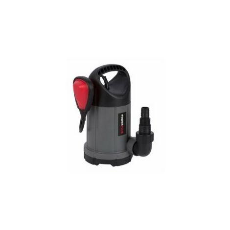 Bomba Agua Sumerguible 250W-5000L/H Limp 5Mt Powerplus