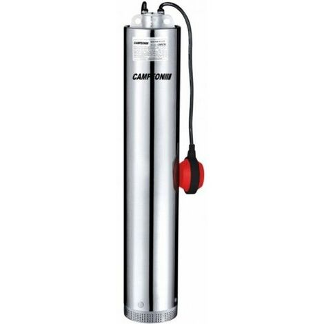 Bomba Agua Sumerguible 550W-90L/M Limpias 5Mt Icompact 33/5000 Campeon