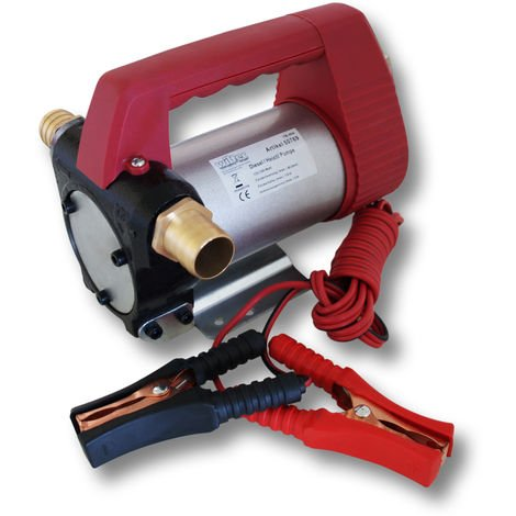 Bomba autocebante para bio diesel y gasóleo 12V/160W 40l/min Maquinaria Calefacción