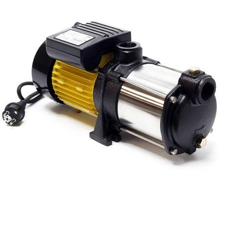 Bomba centrífuga multietapa 6000 l/h, 550W, 35m altura máx., 2900rpm para grupo de presión doméstico