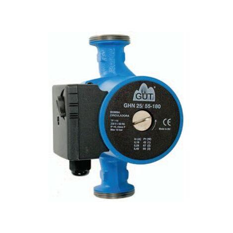 Bomba circuladora circuitos de calefacción y climatización GUT GHN25/55-180