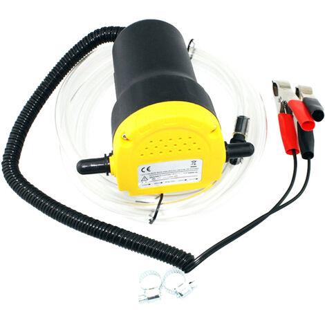 Bomba de aceite de motor de coche, extractor de sumidero de fluido de aceite electrico de 12 V