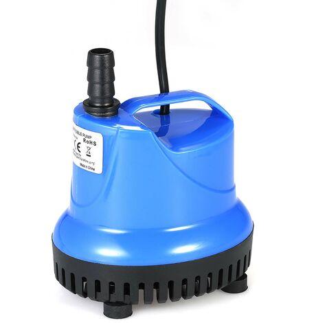 Bomba de agua 25W 1800L / H sumergible Mini bomba de la fuente por peces de acuario tanque de agua del estanque Jardines sistemas hidroponicos con Boquilla AC220-240V