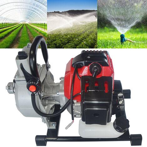 "main image of ""Bomba de Agua con Motor de Gasolina 52cc 2200w bomba de agua a gasolina ,bomba de jardín"""