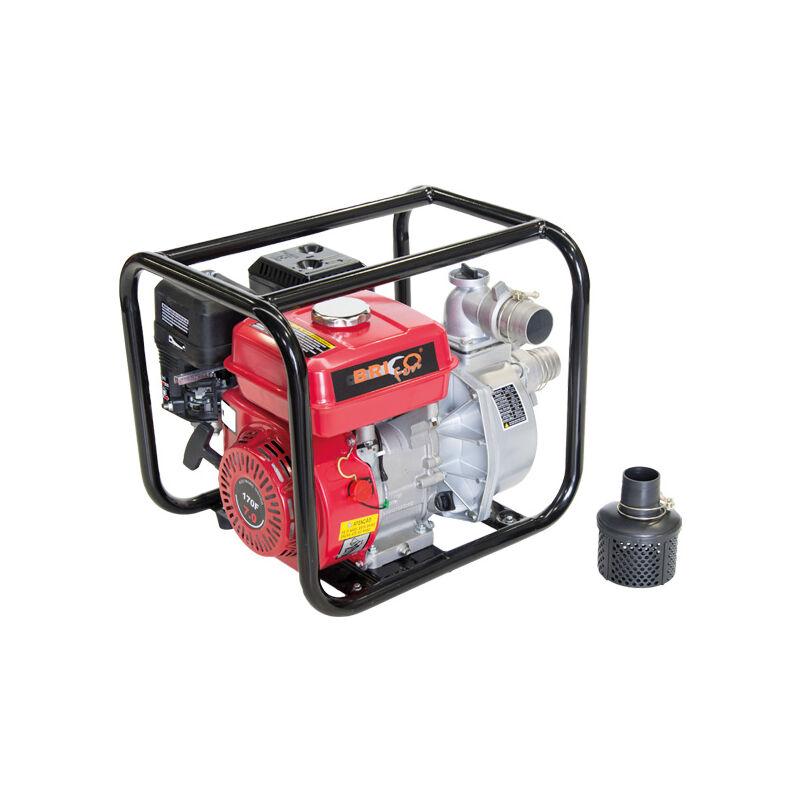 Motobomba de Agua con Motor de Gasolina 7HP 212cc - Bricoferr