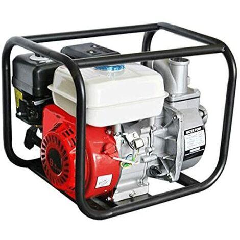 Bomba de agua con motor gasolina 163cc 50mm 4T 30.000 L/H