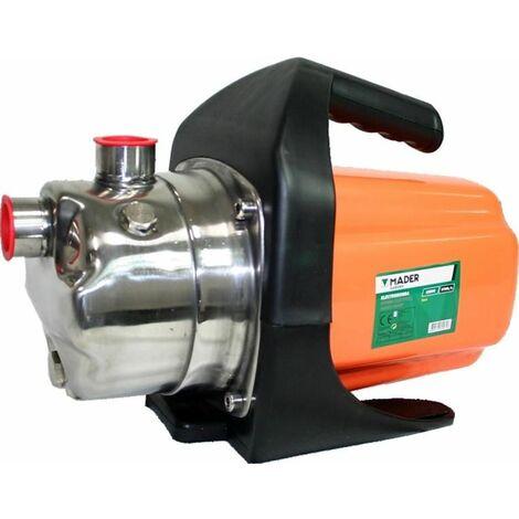 Bomba de agua eléctrica 1200 W, 3200 L/h, Inox - MADER®