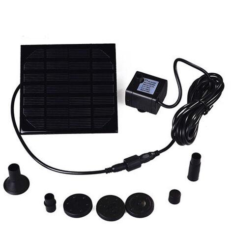 Bomba de agua Solar de 1,2 W, fuente Solar para piscina, estanque, rociadores de agua para jardin, fuente Solar, fuente de decoracion para estanque de jardin
