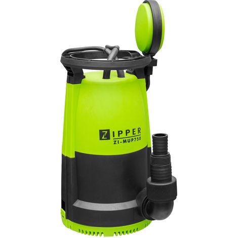 Bomba de agua sumergible 3 en 1 limpia sucia plana Zipper ZI-MUP750 12000 L / H