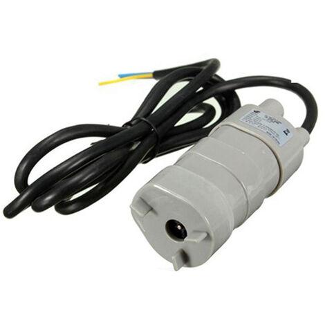 Bomba de agua sumergible de alta presion de tamano compacto 24V 600L / H