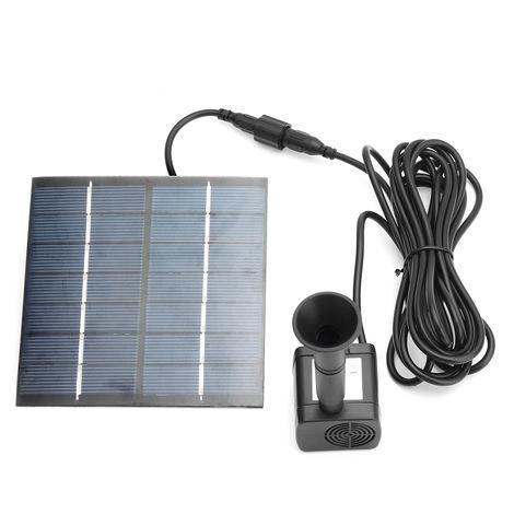 Bomba de agua sumergible de la energía solar 1.4W 7V para la charca de la charca del jardín de la fuente Sasicare