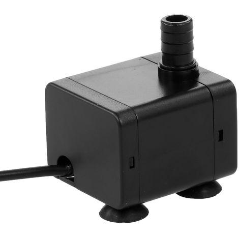 Bomba de agua USB de 5V, para acuario de estanque de fuente sumergible