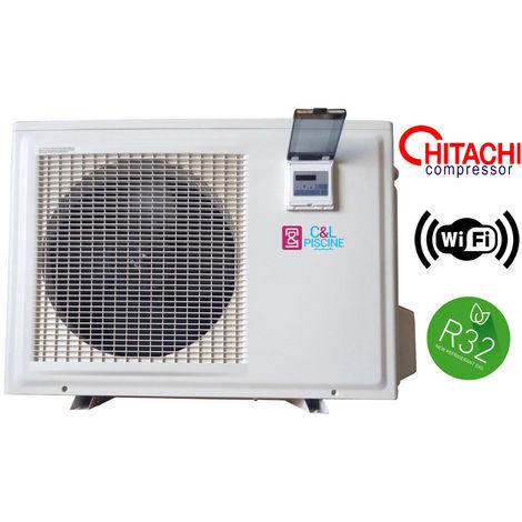 Bomba de calor para piscina NRJ-10 9,8kW R32 Wifi / 80m3