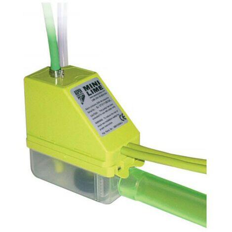 Bomba de condensado con canaleta para aire acondicionado Mini Lime + Silent