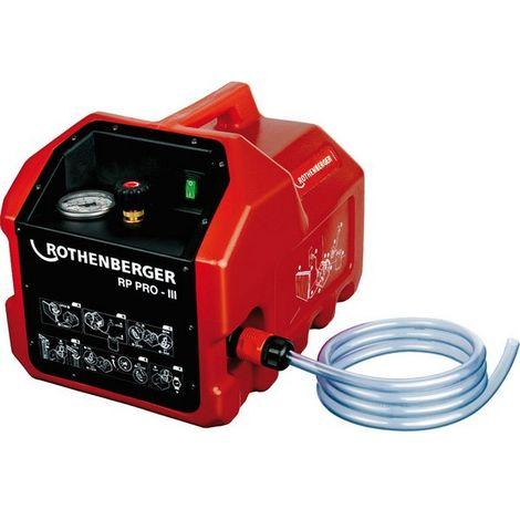 Bomba de control eléctrico RP PRO lll, volumen de aspiración : 6 l/min, poderío 1,3 kW, empalme R 1/2 pulgadas