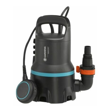 Bomba de drenaje GARDENA - Para agua clara - 300W - 7000 l/h - 1661-20