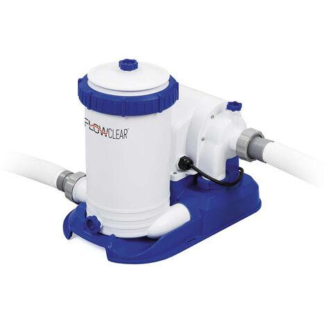 Bomba de filtro de cartucho Bestway Flowclear 58391 para piscinas