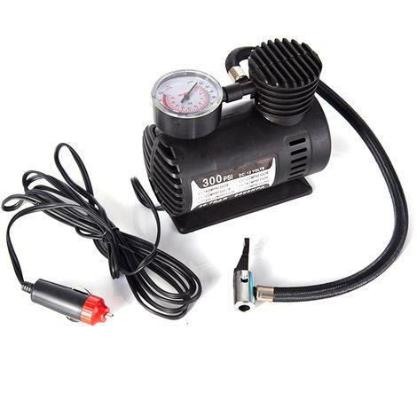 Bomba de inflado electrica, inflador de aire, bomba de compresor automatico 300PSI