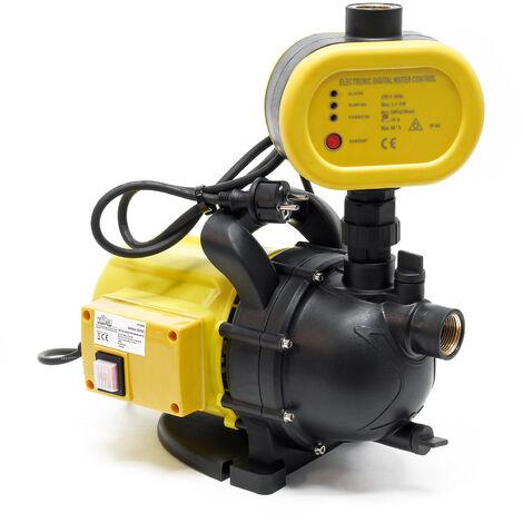 Bomba de jardín para obras hidráulicas domésticas interruptor de bomba de agua portátil 1200W 3500l/h