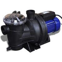 Bomba de piscina eléctrica 800 W azul