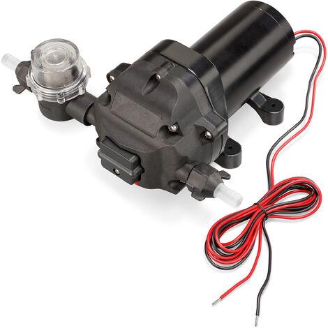Bomba de presión con membrana, de 12V y autoaspirante a 1100l/h, bomba de agua para irrigación 100812