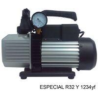 Bomba de vacío 2 etapas con Vacuometro para R32 y 1234yf