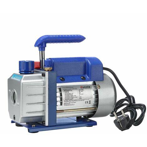 Bomba de vacío motor bomba aspiradora 50 l/min de aire acondicionado Aluminio Compresor de aire acondicionado Bomba industrial A/C medidor
