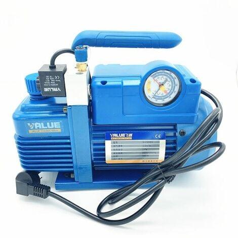 Bomba de vacio para aire acondicionado con manometro, refrigeracion, 3,6m3/h Value VI120SV