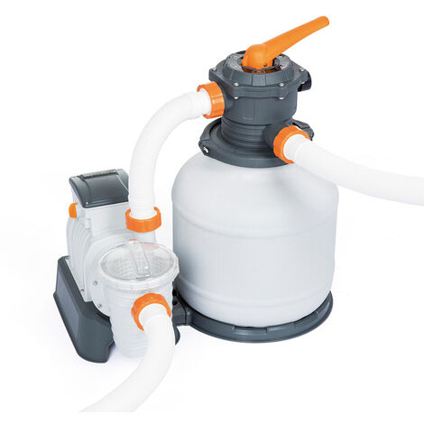 Bomba Depuradora Filtrante De Arena Bestway 58499 Flowclear De 7750 lt/h para Piscina