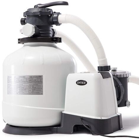 Bomba filtro arena Intex 26648 ex 28648 universal piscinas desmontables 10500 l/h