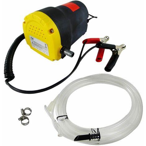 Bomba para sacar aceite y gasolina 12 V 1.2L para coche y moto