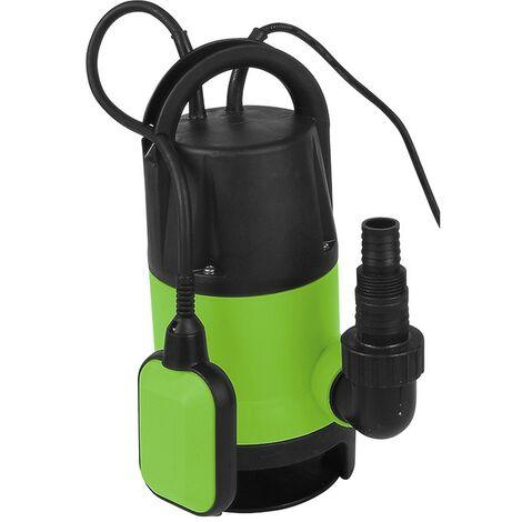 Bomba sumergible 400W 7500 litros/h 5mts (para aguas residuales o limpias)