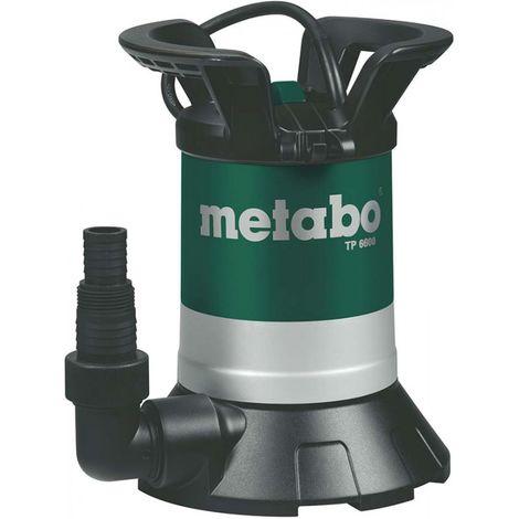 Bomba sumergible agua claro 250W / 230 V / 50 Hz - Metabo TP6600S / 250660000