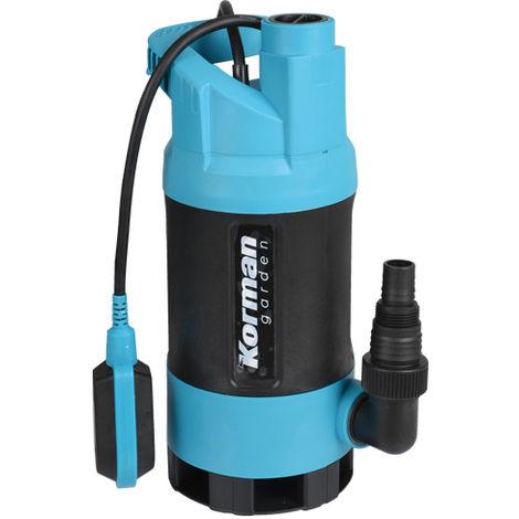 Bomba sumergible, aguas sucias 1000W