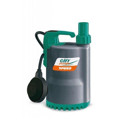 Bomba sumergible City Pumps SPEED para achiques de aguas claras. -Disponible en varias versiones