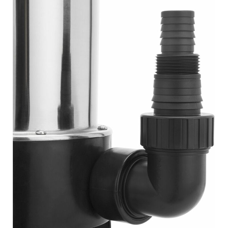 Bomba sumergible de acero inoxidable para aguas residuales Conector universal | 550 W 11500 l//h