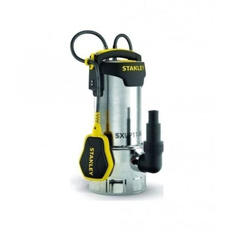 Bomba sumergible inoxidable para agua sucia 1100 W SXUP1100XDE STANLEY