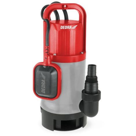 Bomba sumergible para agua limpia y sucia Dedra DED8844