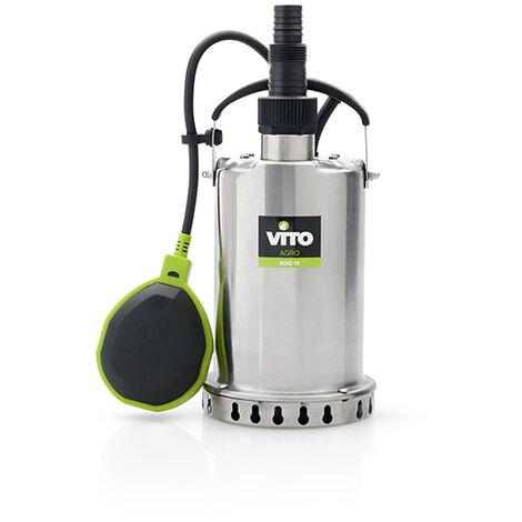 Bomba Sumergible para Aguas Limpias Power Clean 500 Vito Agro Herramientas Agro Jardín,Bombas de agua,Aguas Limpias