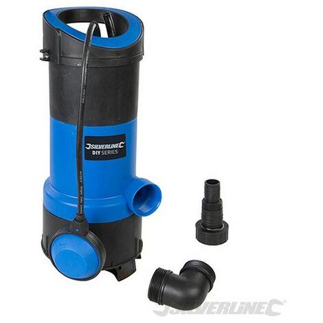 Bomba sumergible para aguas limpias y residuales 750 W (750 W)