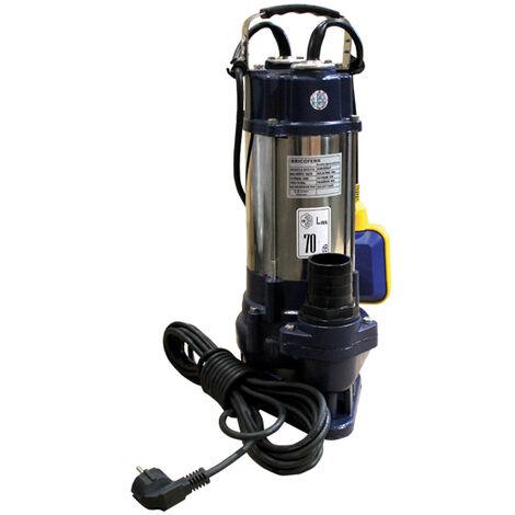 Bomba Sumergible Para Bombeo De Aguas Sucias 750w 18000L/h