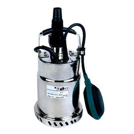 Bomba sumergible para drenaje y aguas residuales 500W GUT GGKS500S - Monofásico