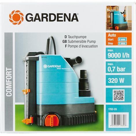 Bomba sumergida 9000 de Gardena 1783-20