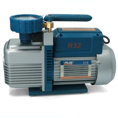 Bomba Vacio Value Vacuometro Doble Efecto 373w R32 R1234Yf