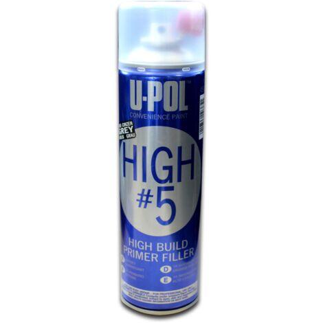 Bombe Apprêt garnissant 450 ml gris UPOL HIGHG/AL