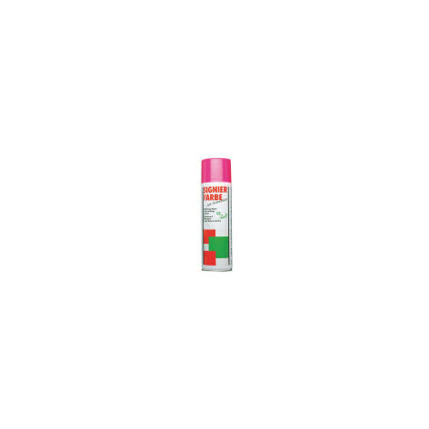 Bombe De Marquage Fluo Rouge 500ml