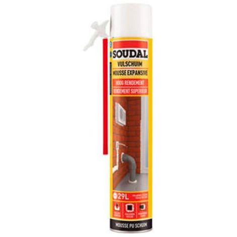 Bombe de mousse polyuréthane 750 ML DIY B3 - 103539 - Soudal - Autre -