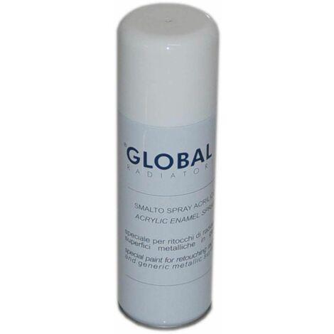 Bombe de peinture blanche GLOBAL 200ml
