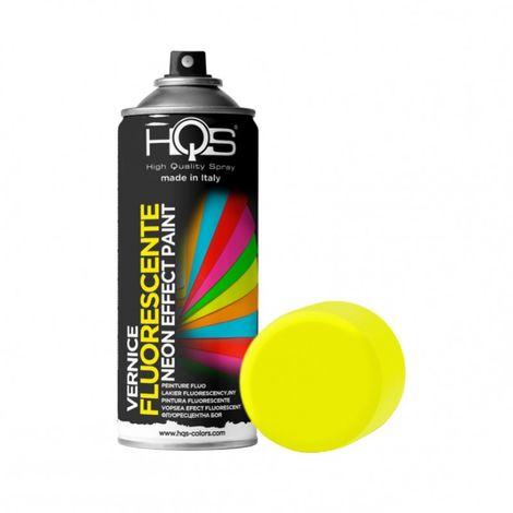 Bombe de peinture fluo jaune
