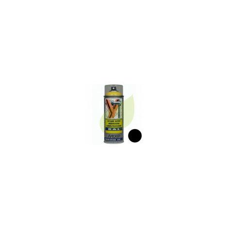 Bombe de peinture NOIR MAT aérosol 400 ml
